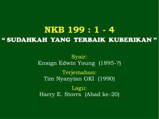NKB 199 : 1 - 4