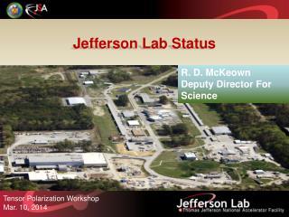 Jefferson Lab Status