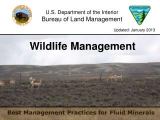 U.S. Department of the Interior Bureau of Land Management