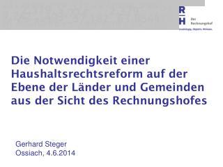 Gerhard Steger Ossiach, 4.6.2014