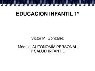 EDUCACIÓN INFANTIL 1º