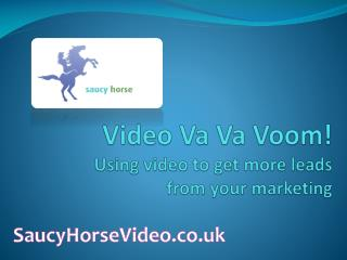 Video  Va Va Voom !  Using video to get more leads  from your marketing