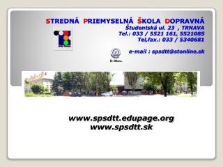 spsdttpage spsdtt.sk