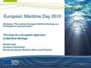 European Maritime Day 2010