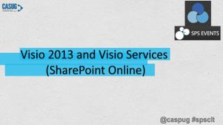 Visio 2013 and Visio Services  (SharePoint Online)