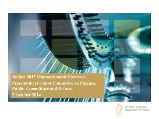 Budget 2015 Macroeconomic Forecasts