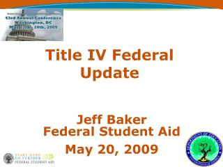 Title IV Federal Update
