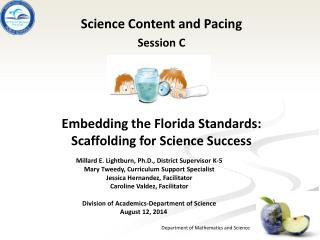 Science Content and Pacing Session C