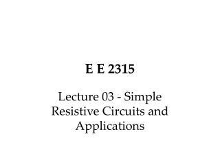 E E 2315