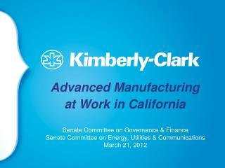 Advanced Manufacturing  at Work in California
