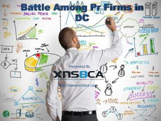 battle among pr firms in dc