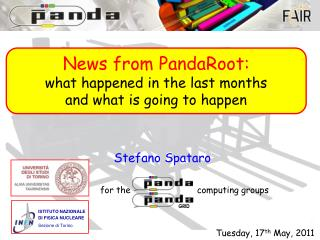 News from PandaRoot: what happened in the last months and what is going to happen