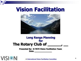 Vision Facilitation