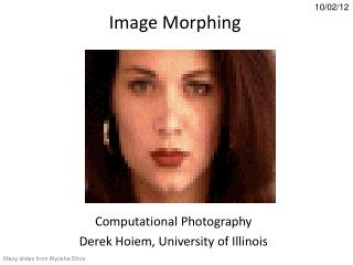 Image Morphing