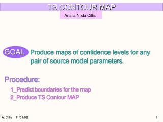 TS CONTOUR MAP