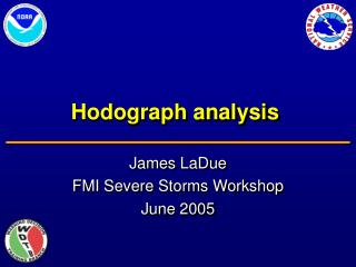 Hodograph analysis