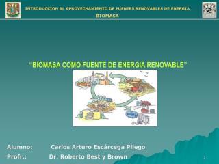 Alumno: Carlos Arturo Escárcega Pliego Profr.:            Dr. Roberto Best y Brown