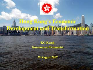 Hong Kong's Economic Development and Transformation