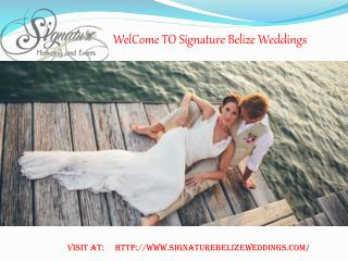 Belize Wedding Ideas