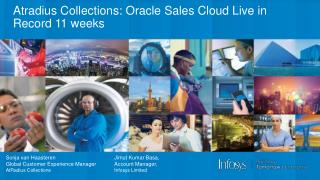 Atradius  Collections: Oracle Sales Cloud Live in Record 11 weeks