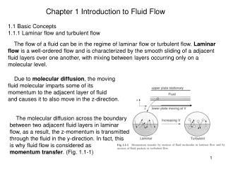 Chapter 1 Introduction to Fluid Flow