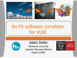 An FX software correlator for VLBI