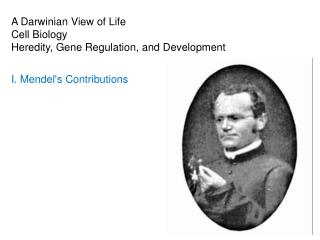 A Darwinian View of Life Cell Biology Heredity, Gene Regulation, and Development