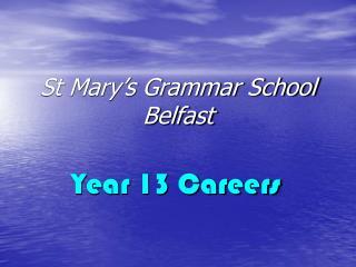St Mary's Grammar School Belfast