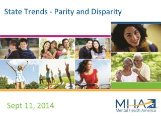 State Trends - Parity and Disparity