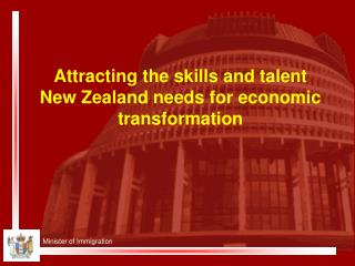 Attracting the skills and talent New Zealand needs for economic transformation