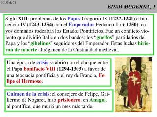 EDAD MODERNA, 1