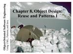 Chapter 8, Object Design: Reuse and Patterns I