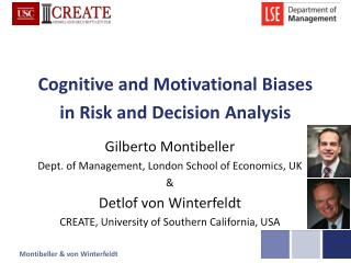 Cognitive and Motivational Biases in Risk and Decision Analysis