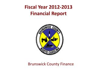 Fiscal Year 2012-2013  Financial Report