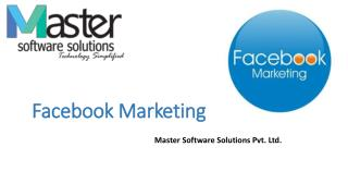 Facebook Marketing With MSS