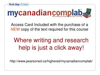 Access Card Included with the purchase of a  NEW  copy of the text required for this course