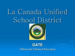 La Canada Unified School District