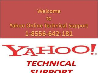 Contact Yahoo Technical Support USA 1-8556-642-181