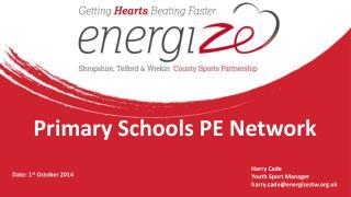 Primary Schools PE Network