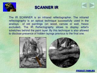 SCANNER IR