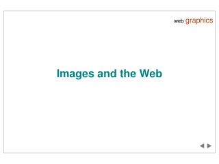 Images and the Web