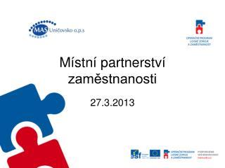 Místní partnerství zaměstnanosti
