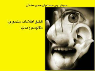 تلفيق اطلاعات سنسوري:  مکانيسم  و مدلها