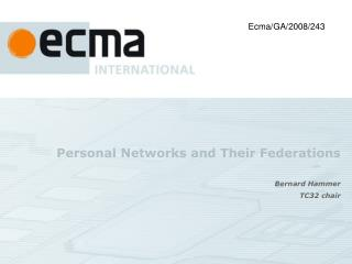 Personal Networks and Their Federations
