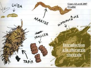 Introduction  � la chirurgie visc�rale