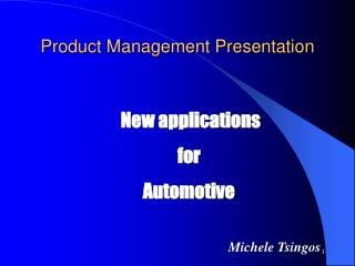 Product Management Presentation