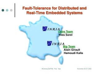Fault-Tolerance for Distributed and Real-Time Embedded Systems