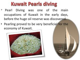 Kuwait Pearls diving