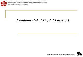 Fundamental of Digital Logic  (1)
