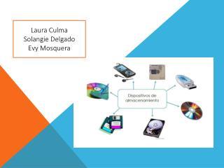 Laura Culma  Solangie Delgado Evy Mosquera